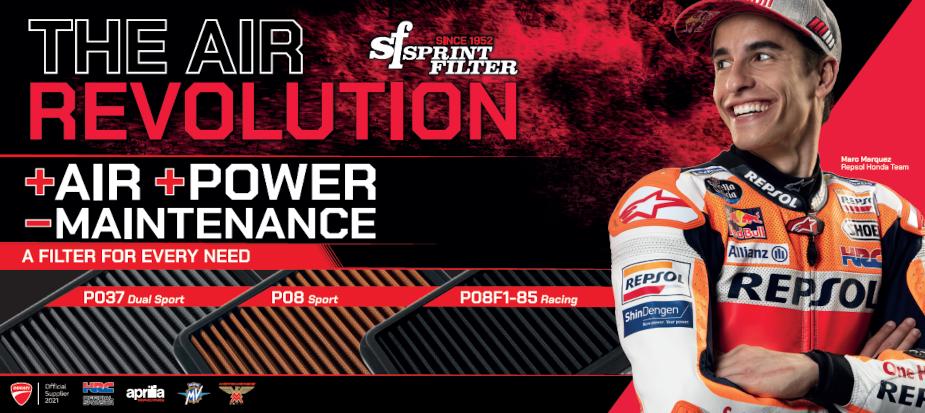 Sprint Filter - Marc Marquez - HRC Official Sponsor